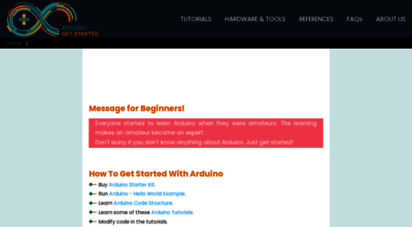 arduinogetstarted.com - arduino tutorials  arduino tutorial