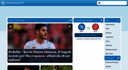 areanapoli.it - areanapoli.it - notizie calcio napoli: calciomercato, interviste, serie a, ...