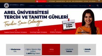 arel.edu.tr - istanbul arel üniversitesi