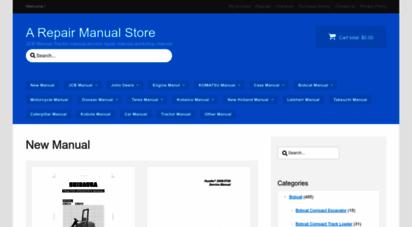 arepairmanual.com - a repair manual store