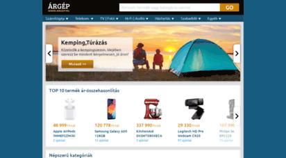 argep.hu - árgép - az ár-összehasonlít oldal - magyarország