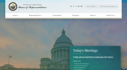 arkansashouse.org - arkansas house of representatives  ar house bill & legislative update