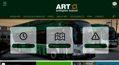 arlingtontransit.com - art - arlington transit