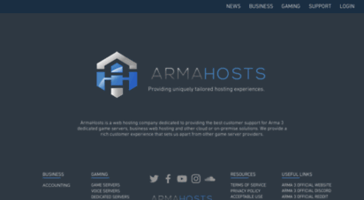 armahosts.com - armahosts: business & gaming solutions
