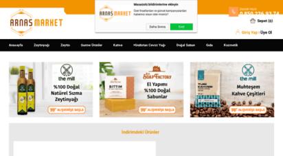 arnasmarket.com - arnas market: zeytinyağı, doğal sabun, kahve ve süpermarket