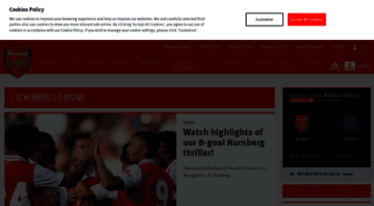 arsenal.com - arsenal.com - homepage