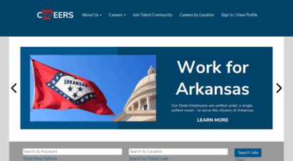 Welcome to Arstatejobs com - Arkansas State Jobs