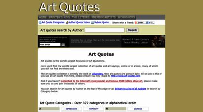 art-quotes.com