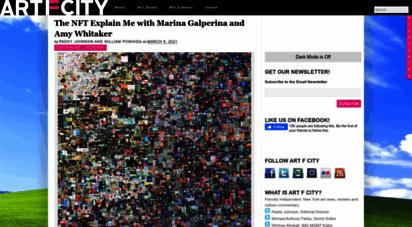 artfcity.com - art f city — new york art news and reviews.
