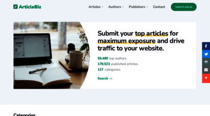 articlebiz.com - reprintable articles for websites and newsletters