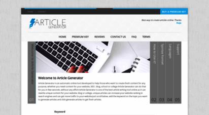 articlegenerator.org