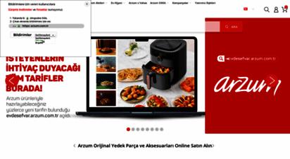 arzum.com.tr - arzum küçük ev aletleri  online alışveriş - arzum