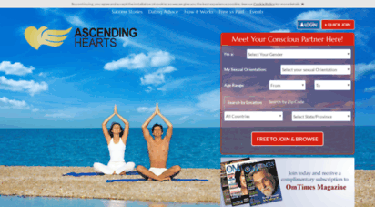 Ascending hearts dating site