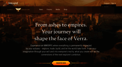 ashesofcreation.com - ashes of creation  intrepid studios, inc.