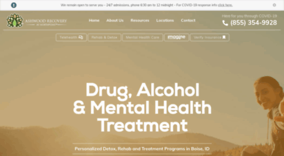 ashwoodrecovery.com - addiction counseling & rehab in boise and nampa idaho