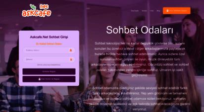 askcafe.net - sohbet, chat , mobil sohbet , ücretsiz sohbet siteleri