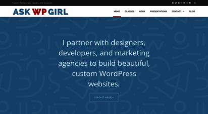 askwpgirl.com - wordpress websites, design, and clsss in boulder, colorado