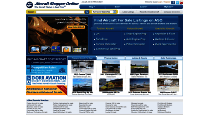aso.com - airplanes and aircraft for sale  buy and sell  aso