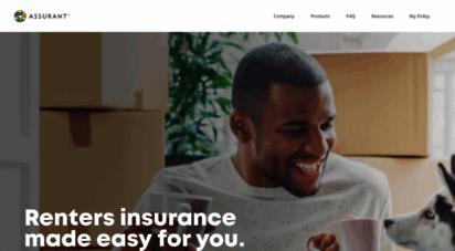 assurantrenters.com - renters insurance - affordable apartment insurance - ssurant