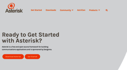 asterisk.org - open source communications software  asterisk official site