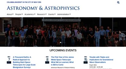 astro.columbia.edu