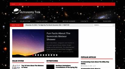 astronomytrek.com - home page -