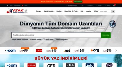 atakdomain.com - atak domain - uluslararası domain alan adı tescilinde lider