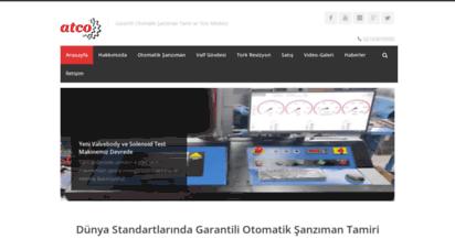 atco.com.tr - garantili otomatik şanzıman tamiri istanbul