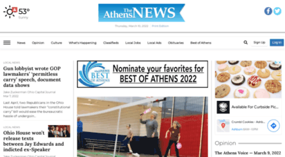 athensnews.com - the athens news