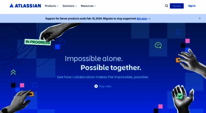 atlassian.com - atlassian  software development and collaboration tools