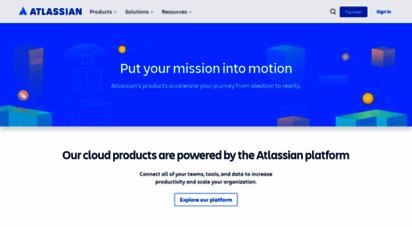 atlassian.net - products  atlassian