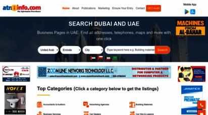 atninfo.com - dubai business pages uae » 200.000 businesses listed ⋆ atninfo.com