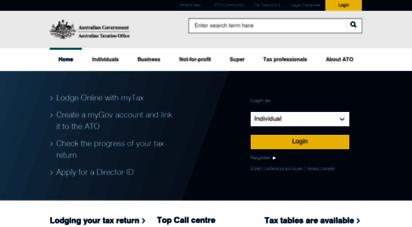ato.gov.au - home page  australian taxation office