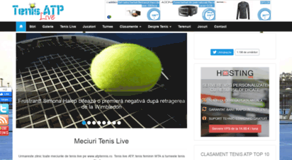 atptennis.ro - tenis atp live - stiri, jucatori, turnee, rezultate, clasmente atp