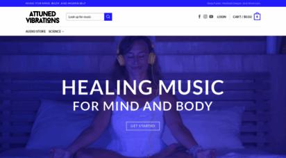 attunedvibrations.com