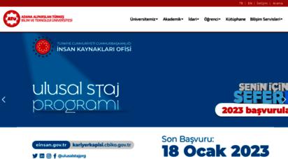 atu.edu.tr -