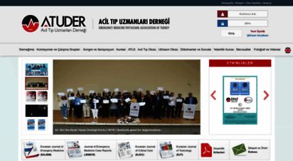 atuder.org.tr - .: atuder  acil tıp uzmanları derneği :.