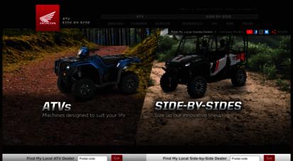 Honda Atv Side By Side >> Welcome To Atv Honda Ca Official Site Honda Atv Side