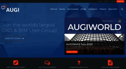 augi.com - welcome  augi - the world´s largest cad & bim user group