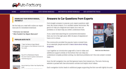 auto-facts.org - answers to car questions from the experts at auto-facts.org