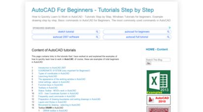 autocad-beginners.blogspot.com -