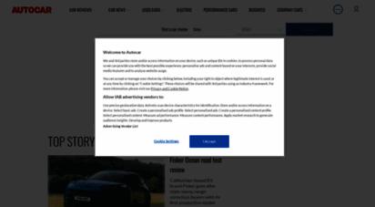 similar web sites like autocar.co.uk