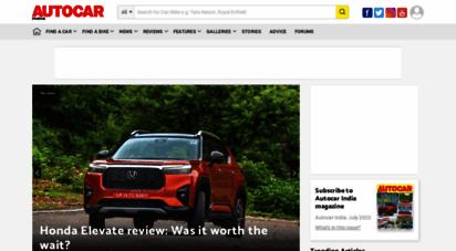 autocarindia.com - latest car news & reviews - upcoming bikes & cars in india - autocar india