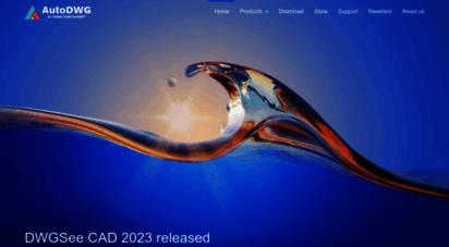 autodwg.com - autodwg software official website - dwg ers,pdf to dwg, dwg to pdf, dwg viewer, developer sdk