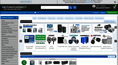 automationdirect.com - automationdirect.com  1 value in industrial automation