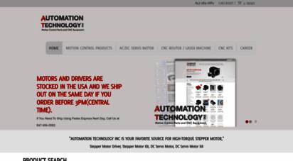 Welcome to Automationtechnologiesinc com - Stepper Motor  CNC Router