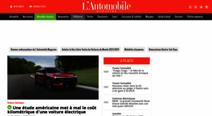 automobile-magazine.fr - l´automobile magazine : toute l´actu auto, essais et nouveautés depuis plus de 70 ans