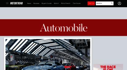 automobilemag.com - no boring cars!  reviews, auto shows, lifestyle  automobile magazine