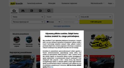 autoscout24.pl - autoscout24 - samochody nowe i używane z całej europy