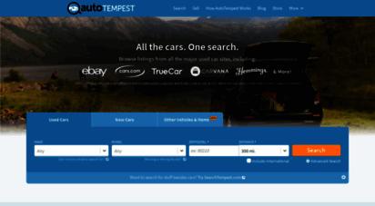 autotempest.com - autotempest.com: all the cars. one search.